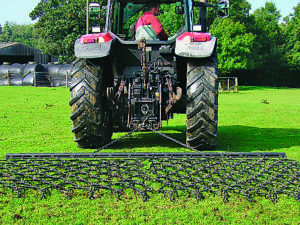 Tractor Trailed Flexi-Chain Harrow 1.22m (4′)