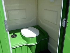 SITE CHEMICAL TOILET (with hand flush : pump out)