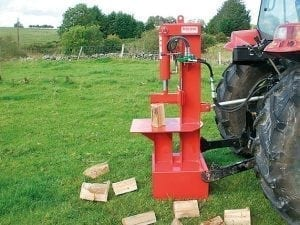 MALONE TRACTOR MOUNTED CAT 3 POINT LINKAGE LOG SPLITTER
