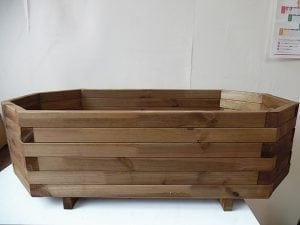 LARGE OCTAGONAL PLANTER