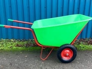 300 Ltr Wheelbarrow – Green
