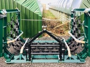 Hydraulic Mounted Chain Grass & Field Harrow / Meadow Paddock Regenerator (6.0m/19.6′)