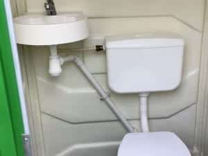 SITE MAINS CONNECTABLE TOILET