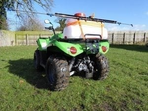 50L ATV Quad Sprayer 1.2 – 1.8m Boom