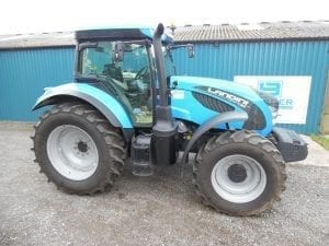 EX DEMO LANDINI 7-160 TRACTOR – SPECIAL OFFER AVAILABLE