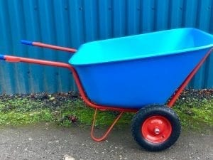 300 Ltr Wheelbarrow – Blue