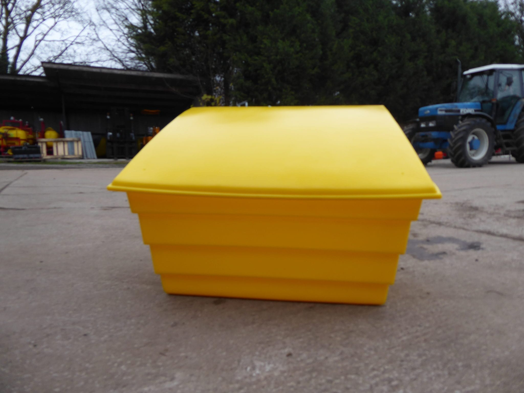 150 Ltr Salt/Grit Box