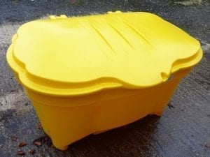 400 Ltr Salt/Grit Box