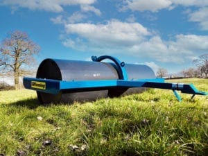 8 ft Compact Fleming Roller With Trailed & 3 Point Linkage