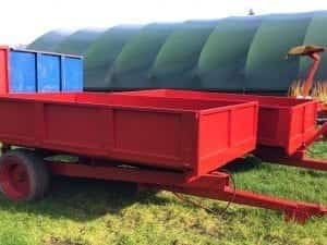 4 TONNE TIPPING TRAILER