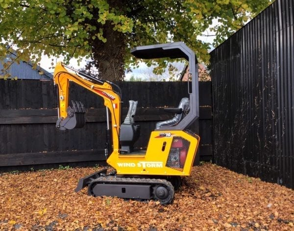 Rhinocerus Wind Storm XN10 Mini Digger