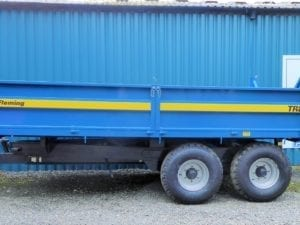 Fleming TR8 Tipping Trailer