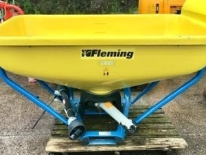 FLEMING 800L WAGTAIL FERT SPREADER