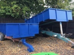 8 Tonne Tipping Trailer