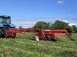 JF STOLL GMS 320 TRAILED CONDITIONER MOWER