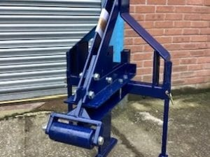 MOLE PLOUGH FOR COMPACT TRACTOR