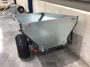 ATV TIPPING TRAILER 1.5M