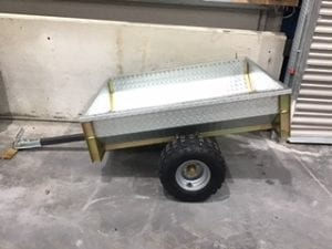 ATV TIPPING TRAILER 1.3M