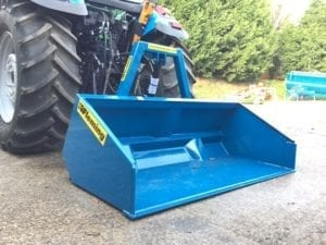 FLEMING 6 FT HYDRAULIC  TRANSPORT BOX
