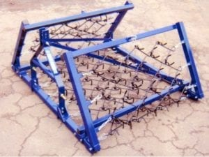 4M / 12FT MOUNTED CHAIN HARROWS