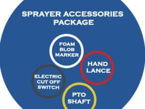 SPRAYER ACCESSORIES PACKAGE