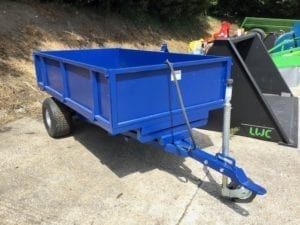 NEW 1.5 TONNE HYDRAULIC TIPPING TRAILER WITH DROP SIDES