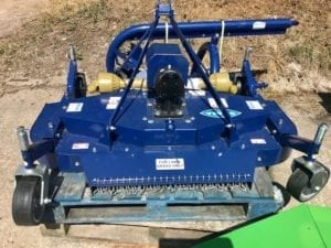 FINISHING LAWN MOWER TRACTOR MOUNTED