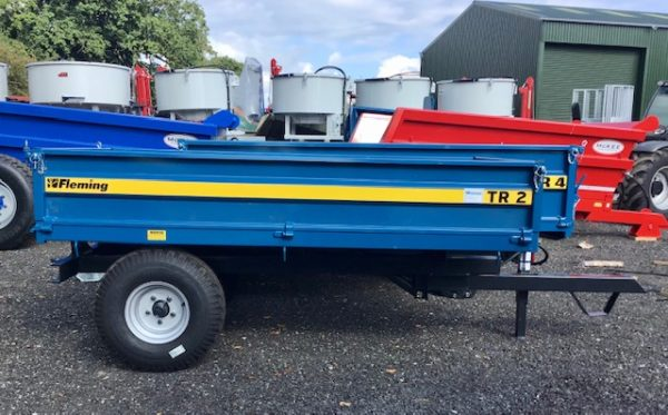 FLEMING TR2 TIPPING TRAILER