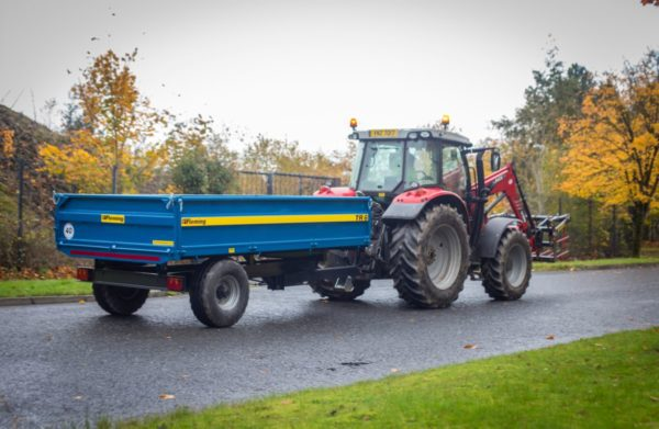 Fleming TR6 Tipping Trailer
