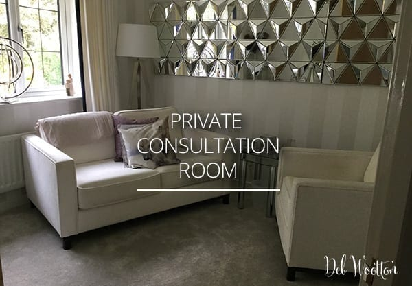 private consultation room for counselling sessions