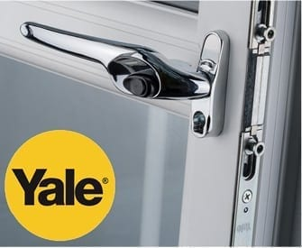 Yale lock by Quadrant windows