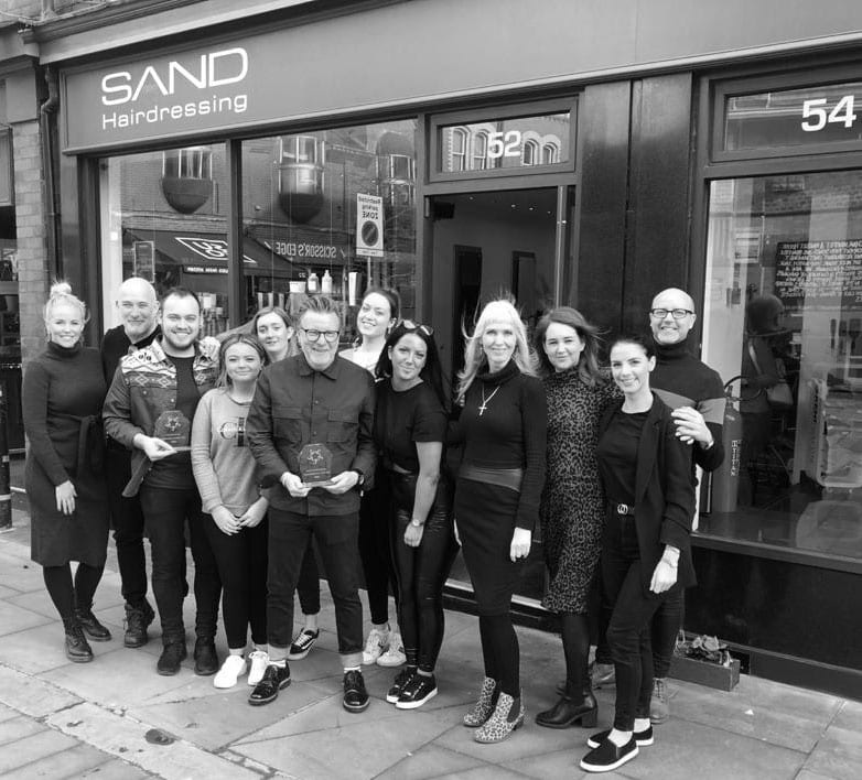 Team at Sand Hairdressing Altrincham