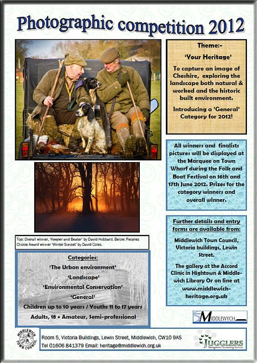 'Your Heritage'  Photographic Competition 2012