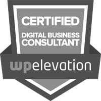 Certified Digital Business Consultant WP Elevation