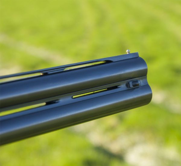 close up of the sp shooting aid on a gun