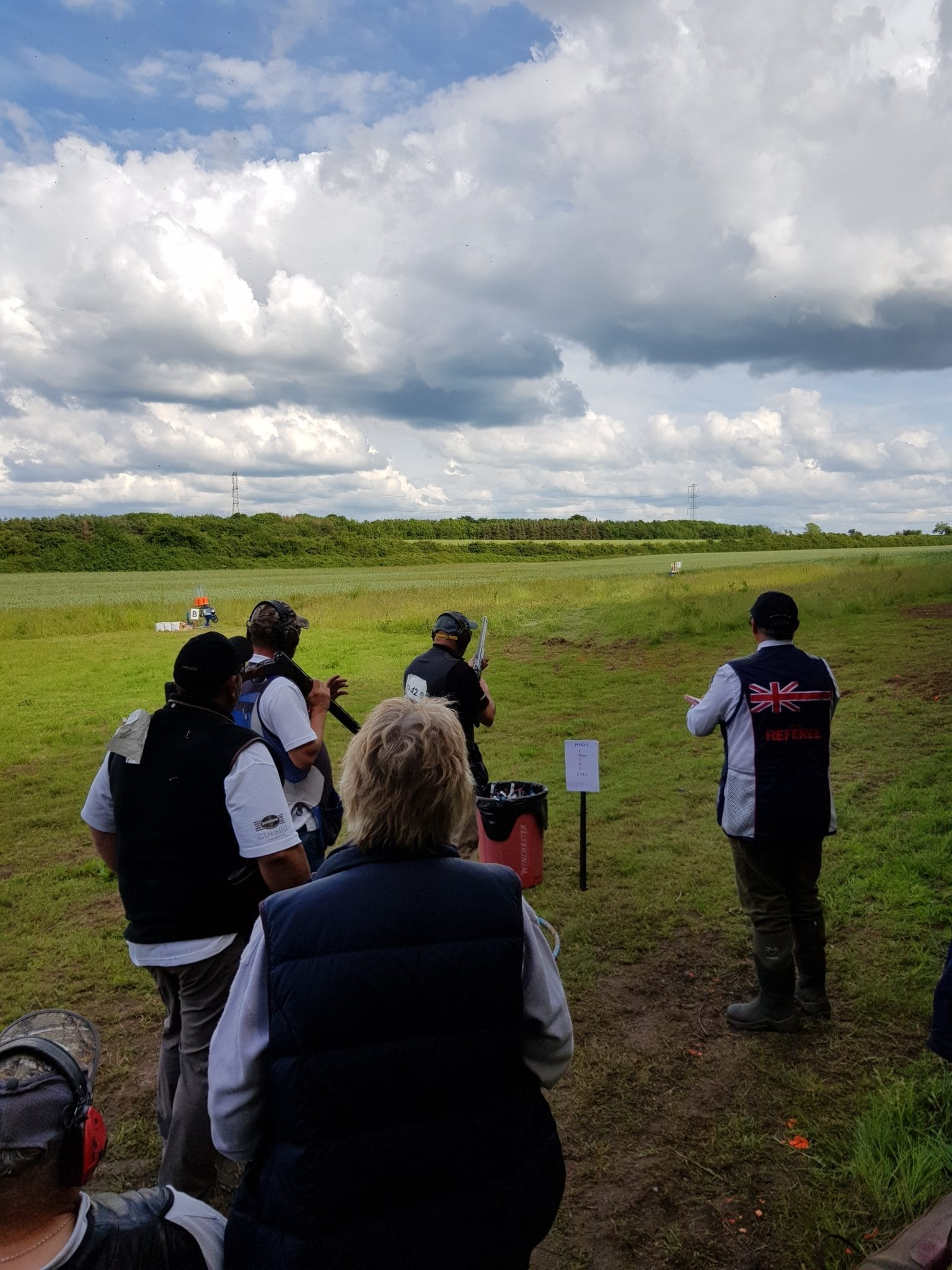 Clay shooting review by R Atkins
