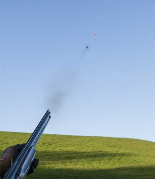 Smashing clays with the SP