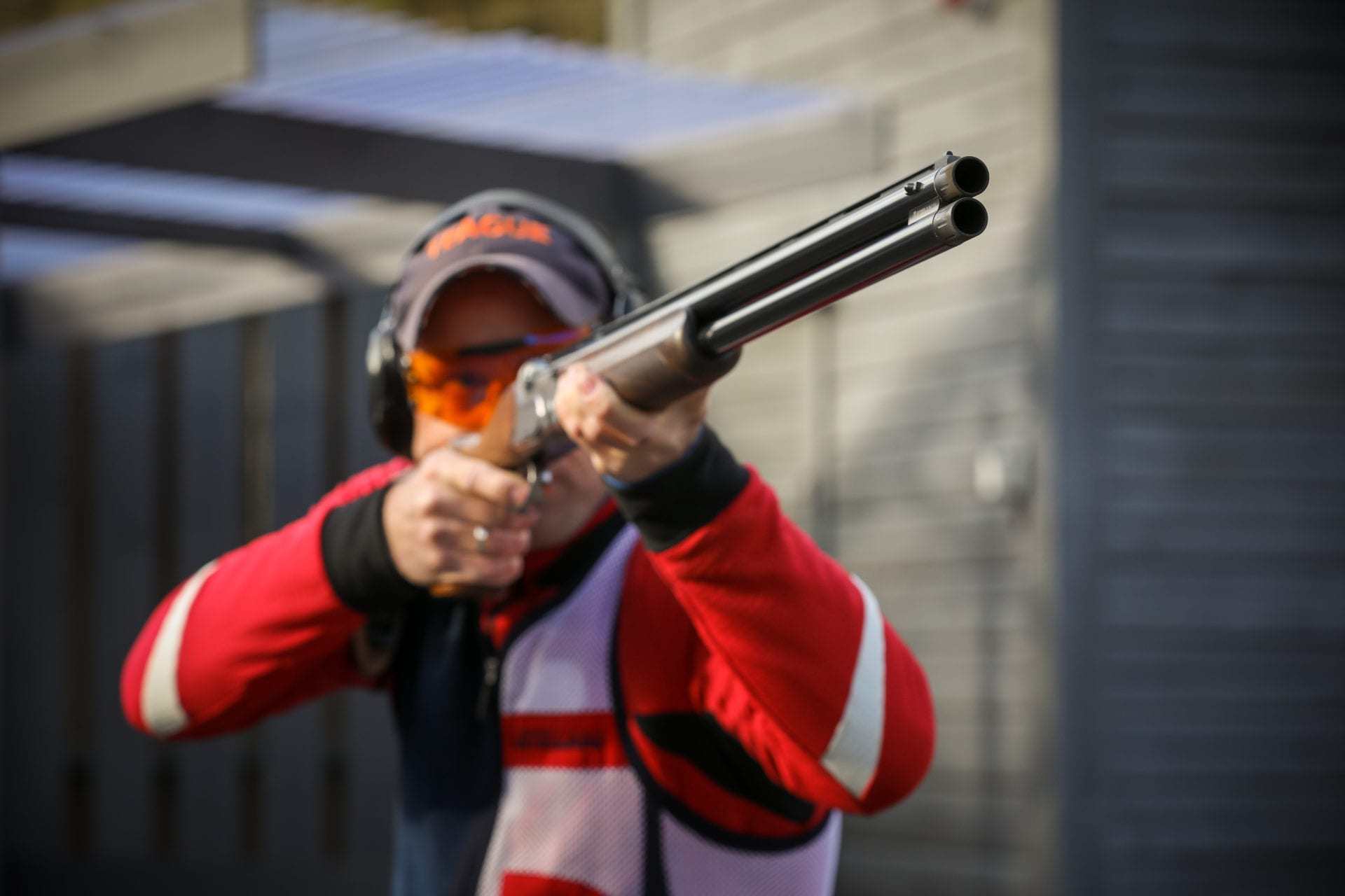 shooting with the SP Shooting Aid fitted