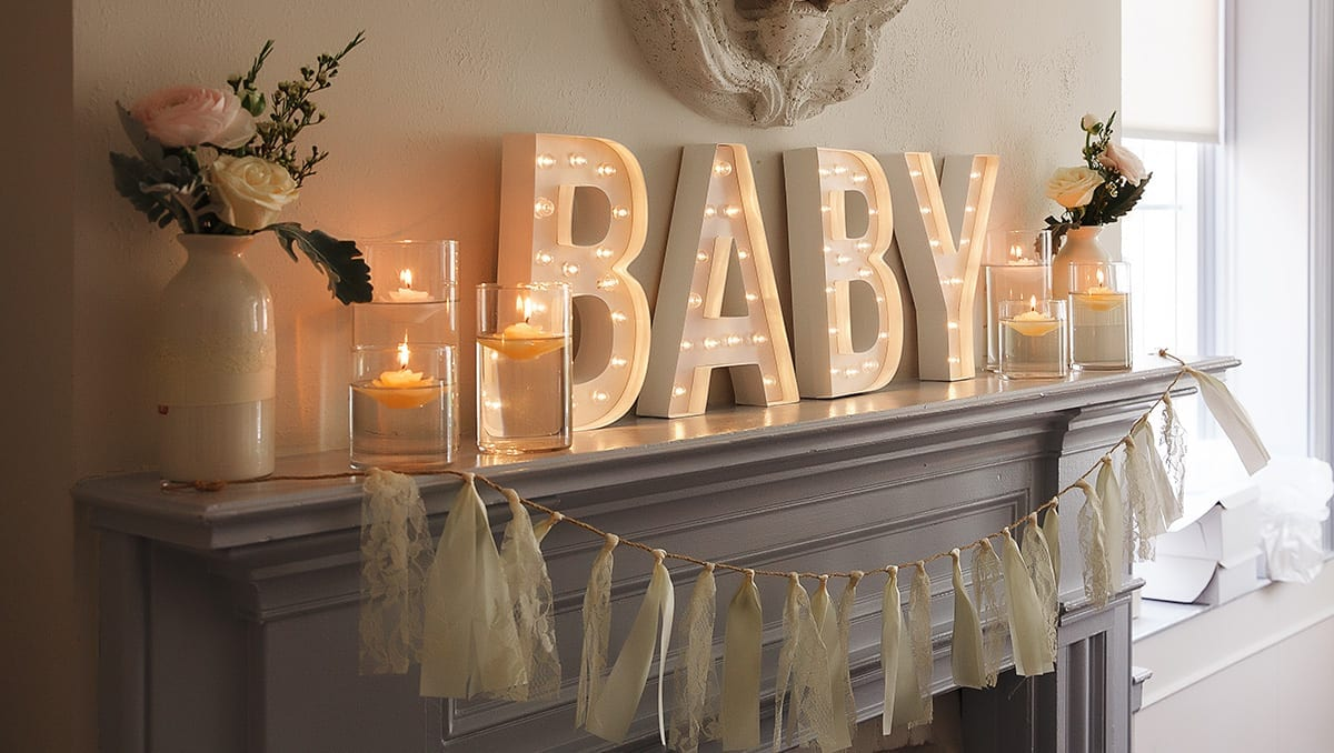 baby shower venue styling cheshire