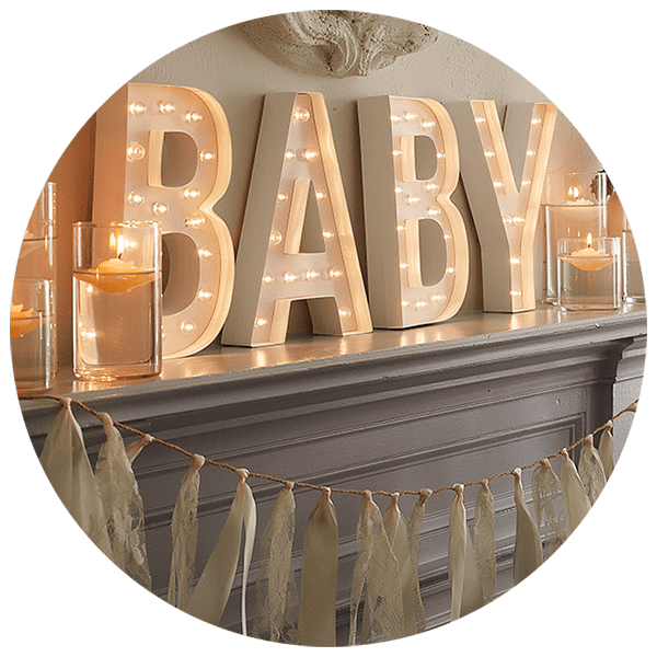 baby shower venue dressing cheshire