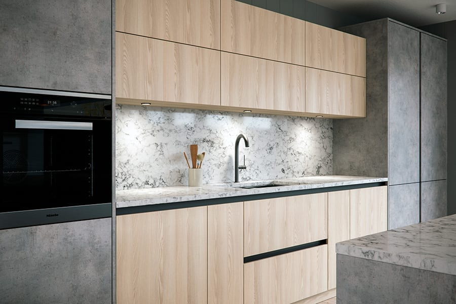 contemporary urban kitchen design cheshire