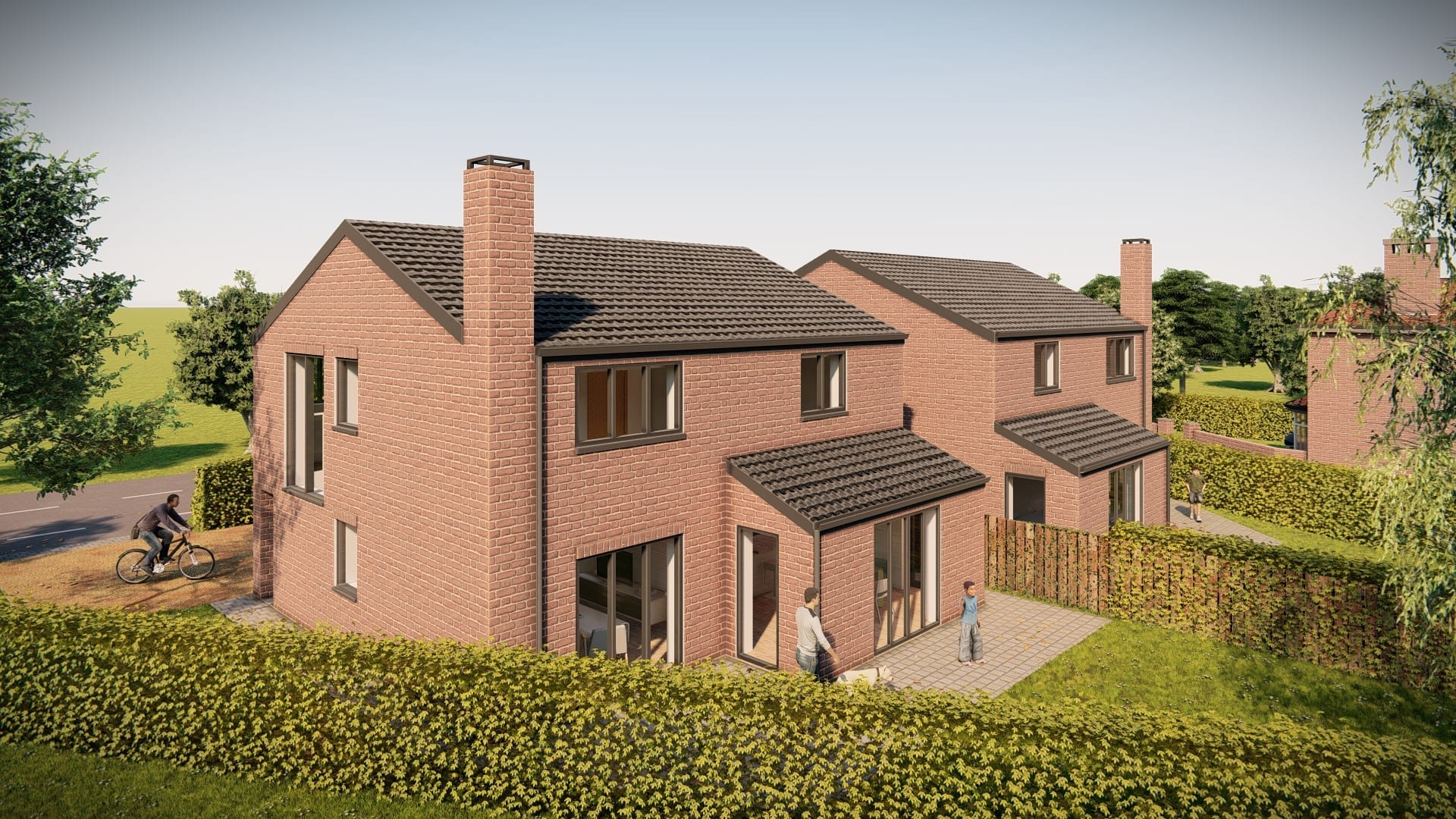 design concept for two rural dwellings holmes chapel