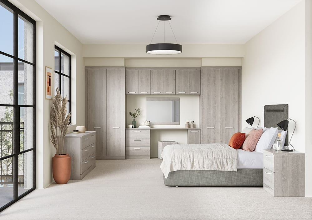 Solo – Radley Nordic Grey Fitted Wardrobes S02